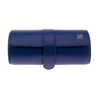 Rapport London watch roll Blue Three Watch Roll D183