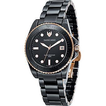 Swiss Eagle Glacier SE-9051-44 Heren Horloge