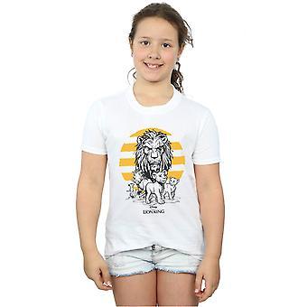 Disney Girls leijona kuningas Movie Group T-paita