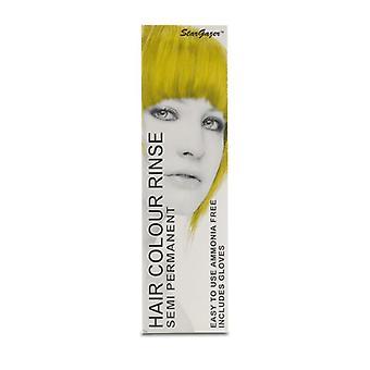 Hiusten väri keltainen