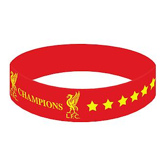 Liverpool Champions Of Europe Silicone Wristband