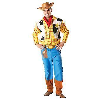 Traje amadeirado adulto-Toy Story