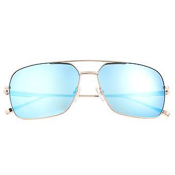 Sixty One Teewah Polarized Sunglasses - Silver/Celeste
