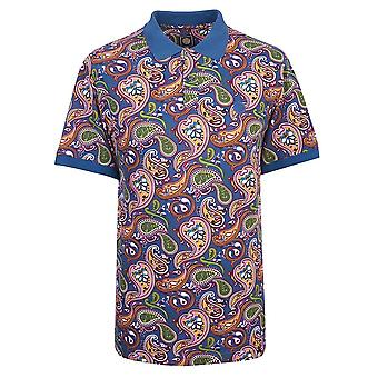 Pretty GREEN Paisley Print Polo Maillot