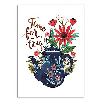 Art-Poster - Time for tea - Ploypisut