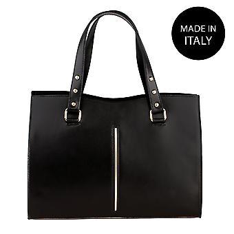 Handbag made in leather 9134