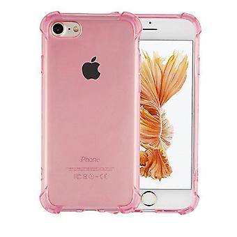 iPhone 6 and 6S Case Transparent Pink - Shockproof