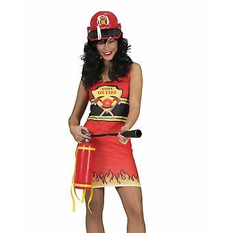 Brannmann Dress Women ' s drakt Firegirl drakt Women ' s Carnival Theme Party Carnival