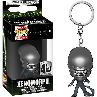 Alien Xenomorph 40th Anniversary Pocket Pop! Llavero