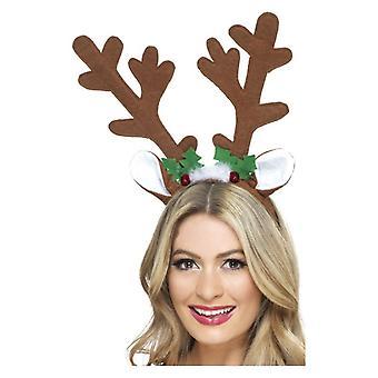 Las cornamentas de renos Navidad disfraces accesorio
