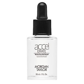 Morgan Taylor AccelErate Quick Dry Protective Coating 60 Second Nail Drops 30ml
