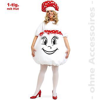 Fliegenpilz Kostüm Damen Pilzkostüm Pilz Damenkostüm