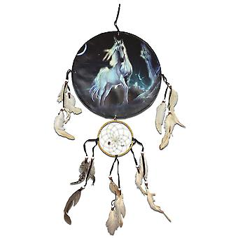 Moonlight Unicorn Dreamcatcher