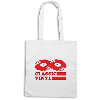 White shopper bag wtc0847 classic vinyl