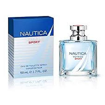 Nautica Voyage sport Eau de Toilette 50ml EDT spray