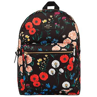 Wouf Black Blossom Backpack