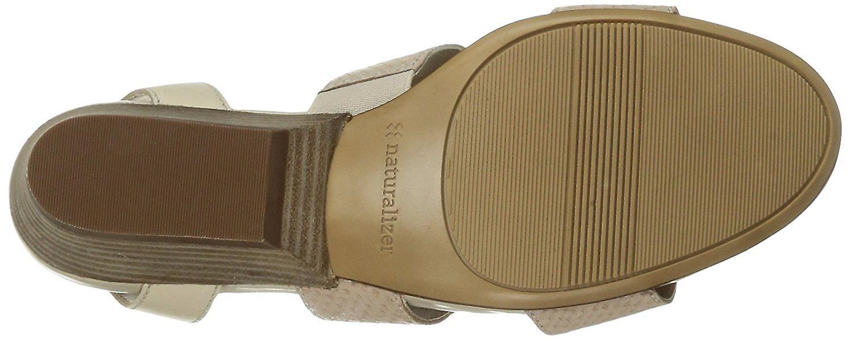 Naturalizer kvinners Gracelyn åpen tå Casual ankelen stroppen sandaler