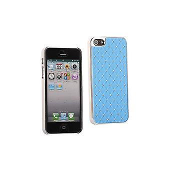 Plastic Hull With Strass On Blue Sky Background For IPhone 5