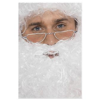 Half Moon Santa Glasses Fancy Dress Costume Accessory