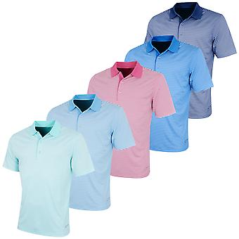 Greg Norman Mens Bar Stripe Golf Polo Shirt