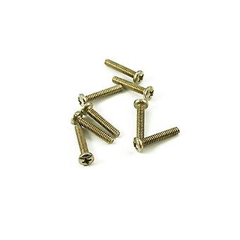 WD Music Single Coil Pickup Screw Nickel (bag Of 8)