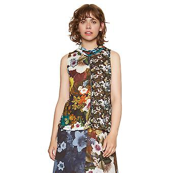 Desigual Women's Maggy Autumn Floral Sleeveless Top