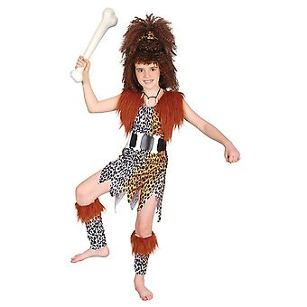 Bristol Novelty Childrens/Kids Cavegirl Costume