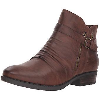 عارية الفخاخ النساء Yasmyn الجلود اللوز اللوز أحذية أزياء الكاحل