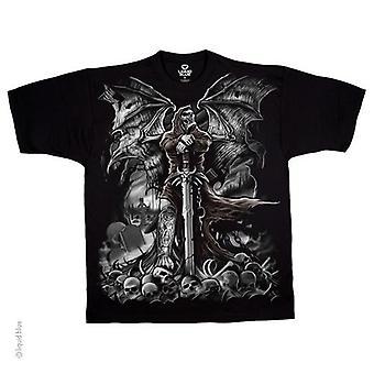 Liquid blue - gravestone reaper - t-shirt