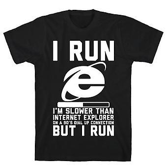 Langsamer als Internet Explorer T-shirt