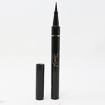 Yves Saint Laurent Shocking Bold Felt Tip Eyeliner Pen 0.03oz 1 Black New In Box
