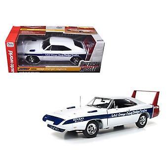 1969 Dodge Daytona LA & Orange County Dodge Dealers Cindy Lewis Car Culture Limited Edition to 1002pc 1/18 Diecast Model Car by Autoworld