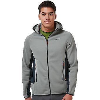 Craghoppers Mens Mannix Hooded Full Zip Fleece Jacket