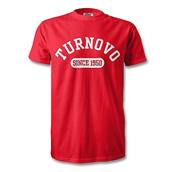 Turnovo 1950 gegründet Fussball T-Shirt