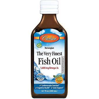Carlson Labs The Very Finest Fish Oil Natural Naranja 200 ml