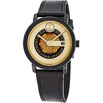Movado Bold Evolution Leather Mens Watch 3600676