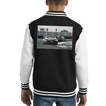 Motorsport Images BMW M8 GTE Costa Sims Farfus Tomczyk Kid's Varsity Jacket