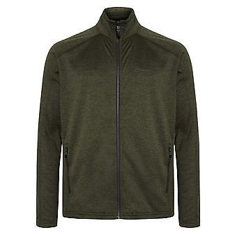 Berghaus Spitzer hombres interactivos cremallera completa fleece chaqueta abrigo caqui