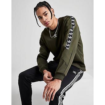 New adidas Originals Men's On Edge Crew Sweatshirt Green