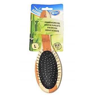 Duvo Bamboo Cepillo Metalico Grande (Dogs , Grooming & Wellbeing , Brushes & Combs)