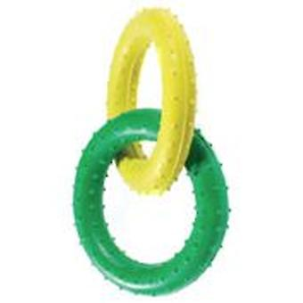 Classic For Pets Pimple Rubber Rings 190mm (Dogs , Toys & Sport , Chew Toys)