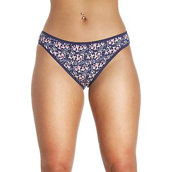 Camille Camille Womens Four Pack Mixed Hi Leg Briefs