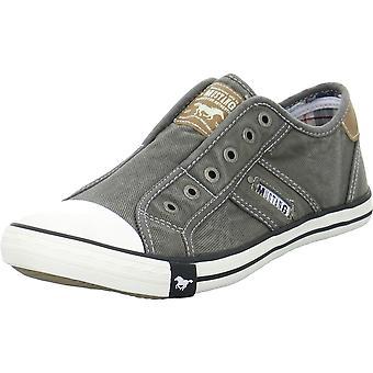 Mustang Shoes Slipon 40584012grau universal all year men shoes