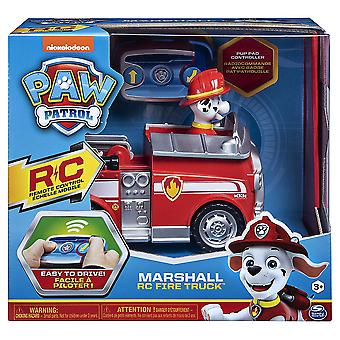 Paw Patrol Marshall Radio Control Fire Truck RC Toy Figure