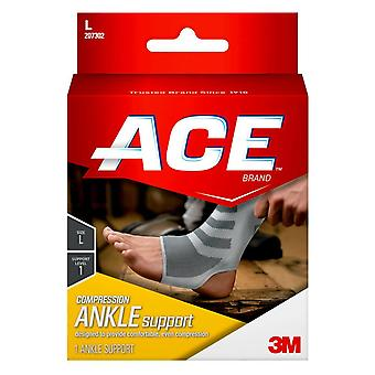 Ace compression ankle support, large, 1 ea