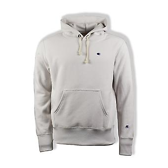 Champion Reverse Weave Hooded Sweatshirt (Off White)