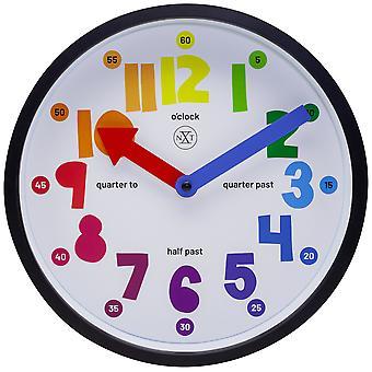 nXt- Wall clock - Ø 26 cm - Plastic - White - 'Sophia'