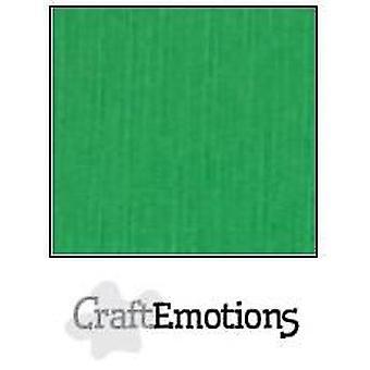 CraftEmotions lin papp 10 Sh gress grønn 27x13,5cm 250gr / LHC-27