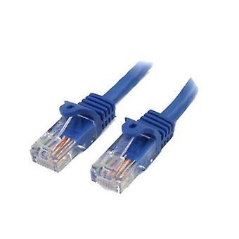 StarTech 10Ft sininen Snagless Cat5e Cable patch-Kaapeli