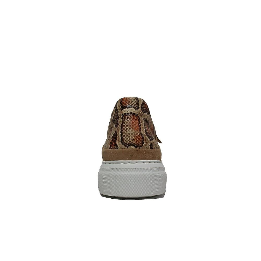 Gabor 312-12 Tan Suede Leather Womens Lace/Zip Up Casual Trainers